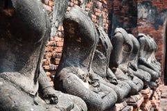 Vecchio tempiale di Ayutthata, Tailandia Immagini Stock Libere da Diritti