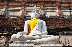 Vecchio tempiale di Ayutthata, Tailandia Immagine Stock Libera da Diritti