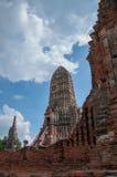 Vecchio tempiale in Tailandia Fotografie Stock Libere da Diritti