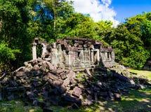 Vecchio tempio di Beng Mealea fotografie stock