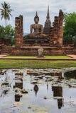 Vecchio tempio di Sukhothai Immagine Stock Libera da Diritti