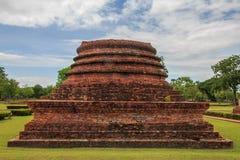 Vecchio tempio di Sukhothai Fotografia Stock Libera da Diritti