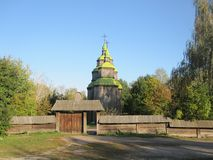 Vecchio tempio in Ucraina immagini stock