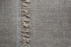 Vecchio tessuto di tela Fotografie Stock
