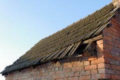 Vecchio tetto Fotografie Stock Libere da Diritti