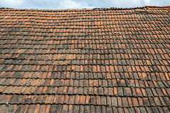 Vecchio tetto d'annata Fotografie Stock Libere da Diritti