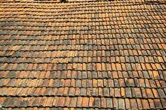 Vecchio tetto d'annata Immagine Stock