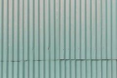Vecchio tetto del metallo Fotografia Stock