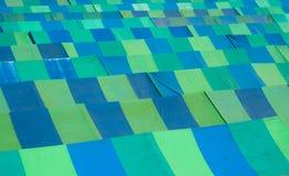 Vecchio tetto delle tende Fotografia Stock