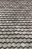 Vecchio tetto di legno Fotografia Stock Libera da Diritti