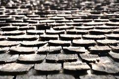 Vecchio tetto di legno Immagine Stock Libera da Diritti