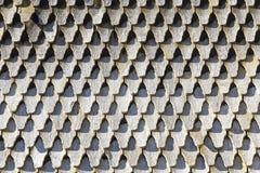Vecchio tetto di legno marcio Immagine Stock