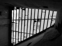 Vecchio tetto di vetro. Immagini Stock Libere da Diritti