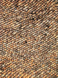 Vecchio tetto rosso Fotografia Stock