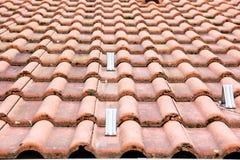 Vecchio tipo tetto Fotografie Stock