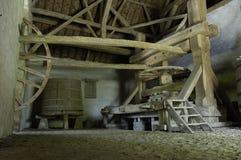 Vecchio torchio francese Fotografie Stock