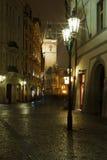 Vecchio Townhall a Praga Fotografie Stock Libere da Diritti