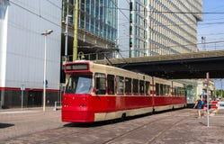 Vecchio tram a L'aia, Hetherlands Fotografie Stock Libere da Diritti