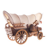 Vecchio trasporto del cavallo Fotografia Stock