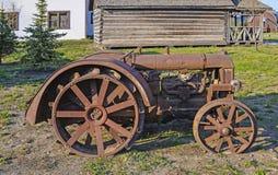 Vecchio trattore Fotografia Stock