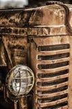 Vecchio trattore immagini stock