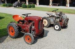 Vecchio trattore agricolo Immagini Stock