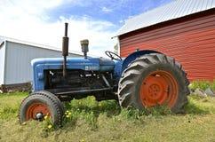 vecchio trattore di Fordson Fotografia Stock