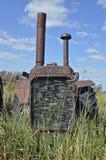 Vecchio trattore di John Deere Fotografie Stock