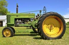 Vecchio trattore di John Deere Fotografia Stock Libera da Diritti
