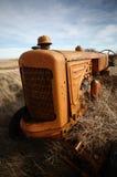 Vecchio trattore Saskatchewan Fotografie Stock Libere da Diritti