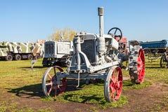 Vecchio trattore sovietico Fotografia Stock