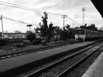 Vecchio treno Immagini Stock