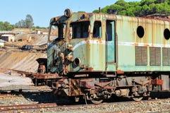 Vecchio treno fotografia stock libera da diritti
