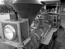 Vecchio treno ad ovest immagine stock