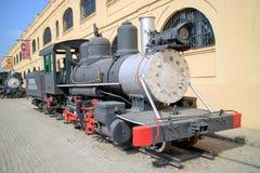 Vecchio treno cubano Fotografie Stock Libere da Diritti