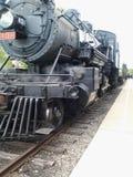 Vecchio treno del vapore Immagini Stock