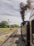 Vecchio treno del vapore Immagine Stock
