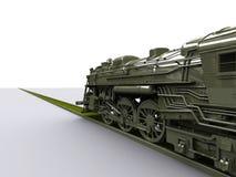 Vecchio treno di Gigant Fotografia Stock