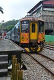 Vecchio treno di Taiwan Fotografia Stock