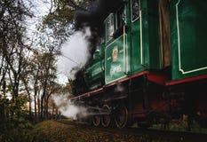 Vecchio treno a Rostov On Don Fotografie Stock