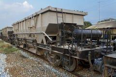 Vecchio treno Tailandia Fotografia Stock Libera da Diritti