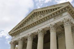 Vecchio tribunale Immagini Stock Libere da Diritti