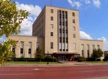 Vecchio tribunale Immagine Stock