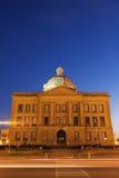 Vecchio tribunale in Lincoln, Logan County Immagine Stock Libera da Diritti