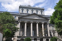 Vecchio tribunale a Montreal fotografie stock