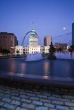 Vecchio tribunale a St. Louis Fotografia Stock