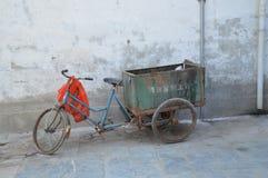 Vecchio triciclo Fotografia Stock Libera da Diritti