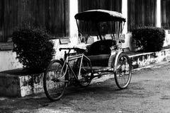 Vecchio triciclo Fotografia Stock