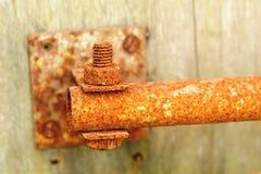Vecchio tubo arrugginito Immagine Stock