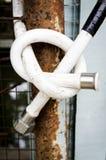 Vecchio tubo dell'acqua Immagini Stock Libere da Diritti